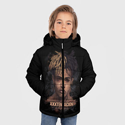 Куртка зимняя для мальчика Jahseh Onfroy цвета 3D-черный — фото 2