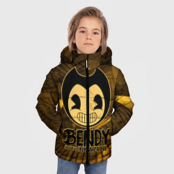 Куртка зимняя для мальчика Black Bendy цвета 3D-черный — фото 2