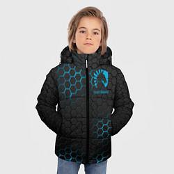 Куртка зимняя для мальчика Team Liquid: Carbon Style цвета 3D-черный — фото 2