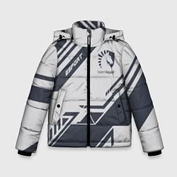 Детская зимняя куртка для мальчика с принтом Team Liquid: Grey E-Sport, цвет: 3D-черный, артикул: 10154947106063 — фото 1