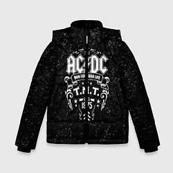 Куртка зимняя для мальчика AC/DC: Run For Your Life цвета 3D-черный — фото 1