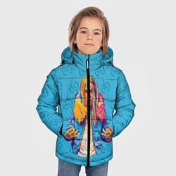 Куртка зимняя для мальчика 6IX9INE 69 - фото 2