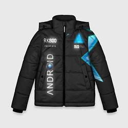 Куртка зимняя для мальчика Detroit: Android RK800 цвета 3D-черный — фото 1