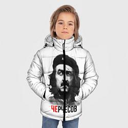Куртка зимняя для мальчика Черчесов цвета 3D-черный — фото 2