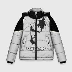 Куртка зимняя для мальчика XXXTentacion RIP цвета 3D-черный — фото 1