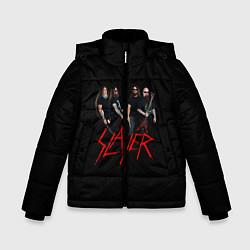 Куртка зимняя для мальчика Slayer Band цвета 3D-черный — фото 1