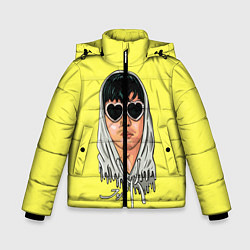 Куртка зимняя для мальчика Joji Love цвета 3D-черный — фото 1