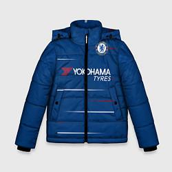 Куртка зимняя для мальчика FC Chelsea Home 18-19 цвета 3D-черный — фото 1