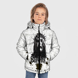 Куртка зимняя для мальчика Slipknot Demon цвета 3D-черный — фото 2