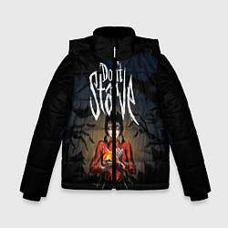 Куртка зимняя для мальчика Willow Halloween цвета 3D-черный — фото 1