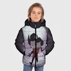 Куртка зимняя для мальчика Don't Starve: Love цвета 3D-черный — фото 2