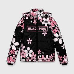 Куртка зимняя для мальчика Black Pink: Pink Sakura цвета 3D-черный — фото 1