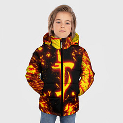 Куртка зимняя для мальчика DOOM: The Crucible цвета 3D-черный — фото 2
