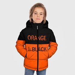 Куртка зимняя для мальчика Orange Is the New Black цвета 3D-черный — фото 2