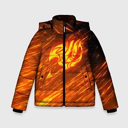 Куртка зимняя для мальчика NATSU DRAGNEEL цвета 3D-черный — фото 1