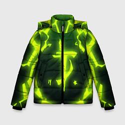 Куртка зимняя для мальчика DOOM Covered цвета 3D-черный — фото 1