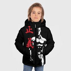 Куртка зимняя для мальчика Ok Hero цвета 3D-черный — фото 2