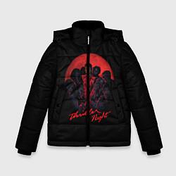 Куртка зимняя для мальчика Michael Jackson: Thriller цвета 3D-черный — фото 1