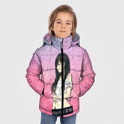 Куртка зимняя для мальчика Hentai Brunette цвета 3D-черный — фото 2
