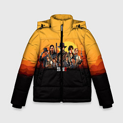 Куртка зимняя для мальчика RDR 2: Team цвета 3D-черный — фото 1