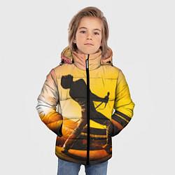 Куртка зимняя для мальчика Bohemian Rhapsody цвета 3D-черный — фото 2