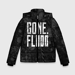 Куртка зимняя для мальчика GONE Fludd Dark цвета 3D-черный — фото 1