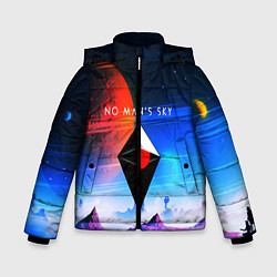 Куртка зимняя для мальчика No Man's Sky: Galaxy цвета 3D-черный — фото 1