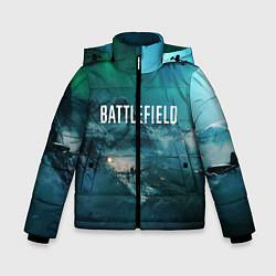 Куртка зимняя для мальчика Battlefield: Sea Force цвета 3D-черный — фото 1