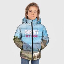 Куртка зимняя для мальчика Far Cry: New Dawn цвета 3D-черный — фото 2