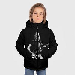 Куртка зимняя для мальчика Roger Waters цвета 3D-черный — фото 2