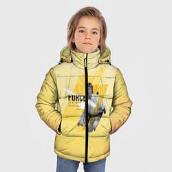 Куртка зимняя для мальчика Star Wars: The Force цвета 3D-черный — фото 2