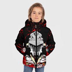 Куртка зимняя для мальчика Убийца Гоблинов цвета 3D-черный — фото 2