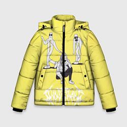 Куртка зимняя для мальчика Ghostemane Mercury цвета 3D-черный — фото 1