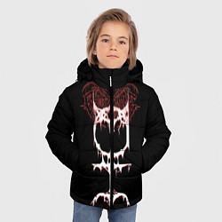 Куртка зимняя для мальчика Ghostemane sign цвета 3D-черный — фото 2