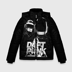 Детская зимняя куртка для мальчика с принтом Daft Punk: Space Rangers, цвет: 3D-черный, артикул: 10171345306063 — фото 1