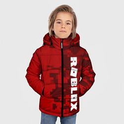 Куртка зимняя для мальчика ROBLOX: Red Camo цвета 3D-черный — фото 2