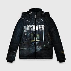 Куртка зимняя для мальчика Escape From Tarkov цвета 3D-черный — фото 1