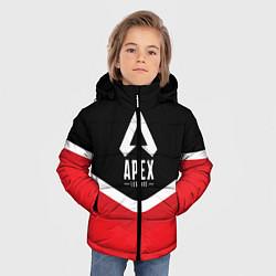 Куртка зимняя для мальчика Apex Legends: Uniform цвета 3D-черный — фото 2