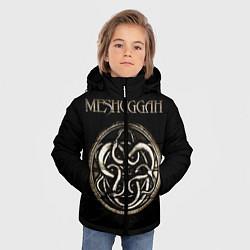 Куртка зимняя для мальчика Meshuggah цвета 3D-черный — фото 2