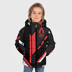 Куртка зимняя для мальчика Apex Cyrex цвета 3D-черный — фото 2