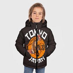 Куртка зимняя для мальчика Tokyo, Japan цвета 3D-черный — фото 2
