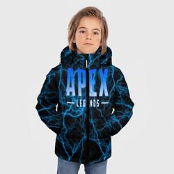 Куртка зимняя для мальчика Apex Legends: Sky Storm цвета 3D-черный — фото 2