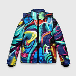 Куртка зимняя для мальчика Street Fashion цвета 3D-черный — фото 1