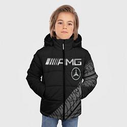 Куртка зимняя для мальчика Mercedes AMG: Street Racing цвета 3D-черный — фото 2