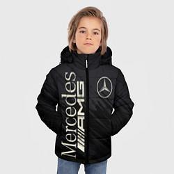 Куртка зимняя для мальчика Mercedes AMG: Black Edition цвета 3D-черный — фото 2