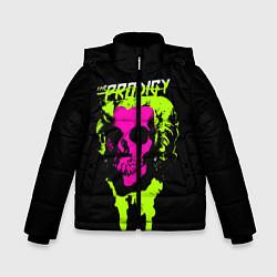 Куртка зимняя для мальчика The Prodigy: Acid Skull цвета 3D-черный — фото 1