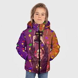 Куртка зимняя для мальчика Gone Fludd art 4 цвета 3D-черный — фото 2