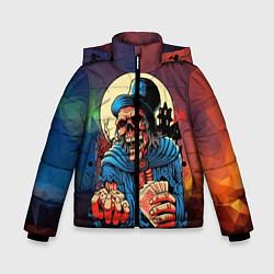 Куртка зимняя для мальчика Шулер цвета 3D-черный — фото 1
