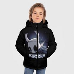 Куртка зимняя для мальчика Hollow Knight 19 цвета 3D-черный — фото 2