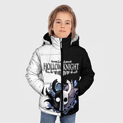 Куртка зимняя для мальчика Hollow Knight Black & White цвета 3D-черный — фото 2